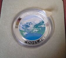 2003 Canada Natural Wonders Rocky Mountains Fine Silver Coin