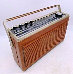 Ultra Vintage Philips Radio 1950s Transistor Portable Radio Collectable
