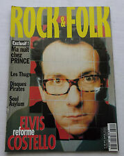 ROCK & FOLK No.320(Avr 1994) E.COSTELLO- PRINCE- Les THUGS-Les BOOTLEGS-M.GONDRY