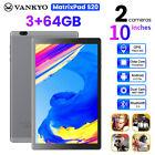 VANKYO Matrixpad S20 10.1'' WIFI Tablet HD 3+64GB Android 9.0 Pad Octa Core GPS