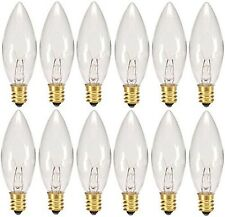 Holiday Joy - Crystal Clear Torpedo Tip Candelabra Replacement Bulbs - Great ...