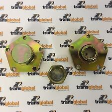 Land Rover Defender TD5 HEAVY DUTY 24 Spline Drive Flange x2 - Bearmach