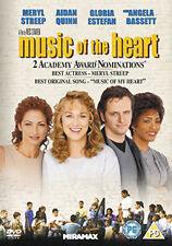 DVD:MUSIC OF THE HEART - NEW Region 2 UK