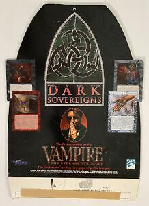 Rare TCG Vampire The Eternal Struggle: Dark Sovereigns 1995 Stand-up CCG