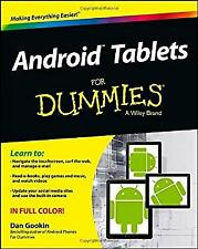 Android Tablets for Dummies by Gookin, Dan