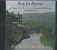 Set In Stone ~ Duane Porterfield ~ Mountain Dulcimer ~ Folk ~ CD ~ New