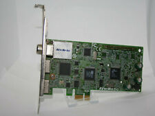 ✔️📺 WORKING - AVERMEDIA AVERTV CAPTURE HD H727 1080i DVB-T PCI-E X1 CARD H.264