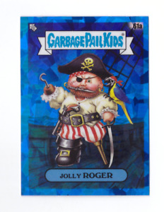 2020 Topps Garbage Pail Kids Sapphire JOLLY ROGER Blue Refractor GPK 61a