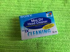 1x Sony Mini DV Head Cleaner DVM-12CLD Cassette • Neu verpackt