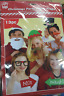 13PC CHRISTMAS Masks Photo Booth Props Mustache On Stick Birthday Wedding Party