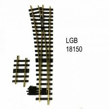 LGB 18150 G R5 15° Left Hand Manual Switch Turnout