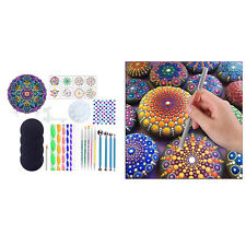 34Pcs / Set Mandala Dotting Tools Rock Painting Coloring Drawing Craft Stylus