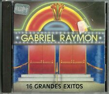 16 Grandes Exitos De Gabriel Raymon  Latin Music CD New
