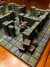 Big Underground Dungeon Set Terrain 28mm Dungeons & Dragons Pathfinder d&d rpg