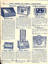 EBOOK WIRELESS GOLDEN AGE 1920s CATALOGUES BROCHURES MARCONI GECOPHONE IGRANIC