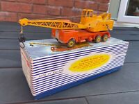 Dinky 972 20-Ton Lorry Mounted Crane Coles In Its Original Box - Excellent
