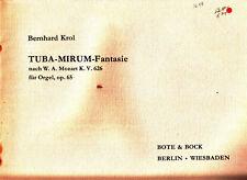 ORGAN MUSIC - KROL, BERNHARD: TUBA-MIRUM-FANTASIE, OP. 65
