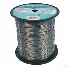 2MM ALUMINIUM FENCING WIRE - 400m Electric Fence Pigs Sheep Galvanised