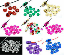 5000 Loose Round Shiny 7mm Cup Sequins Sewing / Card Craft Choose Your Colours