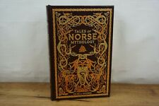 Tales of Norse Mythology ~Illustrated~ Guerber Hardcover Leather Collectible New