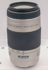 Minolta Maxxum 75-300mm F4.5-5.6 D Sony Alpha DSLR SLT Camera Zoom Lens