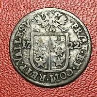 #3674 - RARE - Suisse 1 Batzen 1722 TTB - FACTURE
