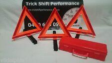 WARNING HAZARD REFLECTIVE CARAVAN TRAILER SAFETY TRIANGLES 3 PACK 84200
