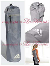 ADIDAS Yoga Pilate Carrier Tote Exercise Gym Mat Bag with Carry Strap - Grey