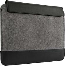 """Belkin Felt Wool Leather Contrast Sleeve with Magnetic Closure 13"""" F7P074vf"""