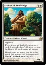 ARBITER OF KNOLLRIDGE Commander 2011 MTG White Creature — Giant Wizard RARE