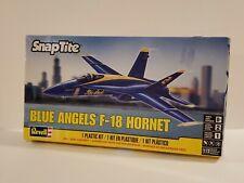 Revell Blue Angels F-18 Hornet Snaptite Plastic Model Kit #851185 1:72 Scale