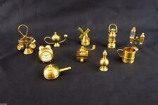 Setzkasten Sammler-Miniaturen aus Metall