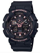 Casio G-Shock *GA100GBX-1A4 Black & Rose Gold Anadigi Watch COD PayPal