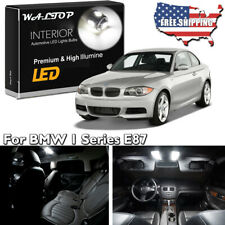 15pc No Error White LED Interior Light Kit For 2005-2015 BMW 1 Series E87 + Tool
