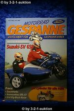 Motorrad Gespanne Nr.57 3/00 Suzuki SV 650 Moto Guzzi Falcon