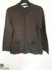 Boden Ladies Cardigan Size 14 Khaki Green