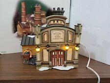 Dept 56 Dickens Village Series 2003 Williams Gas Works 58709 Retired 2005