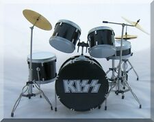 KISS Miniature DrumSet  Drum Set Mego Doll ( for display only )