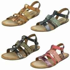 Buckle Gladiator Synthetic Sandals & Flip Flops for Women