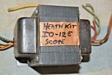 Heathkit Io 12e Oscilloscope Power Transformer Sss