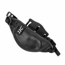 JJC HS-A Leather Hand Strap with Camera Wheel & 1/4'' Thread Tripod Socket