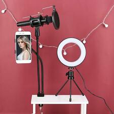 Video Microphone 2 in 1 Youtube Vlogging Facebook Live stream Selfie Light Kit
