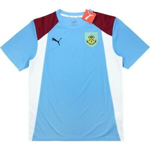 BURNLEY  PUMA POLY TRAINING SHIRT NEW WITH TAGS.LARGE