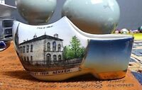 Antique Nenagh County Tipperary Ireland Handpainted Souvenir Shoe Germany