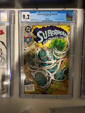 CGC 9.2 SUPERMAN MAN OF STEEL 18 3rd PRINT 1ST DOOMSDAY