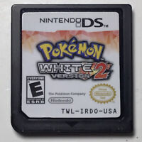 POKEMON: White Version 2 (Nintendo DS, 2012) Authentic, Tested & Working
