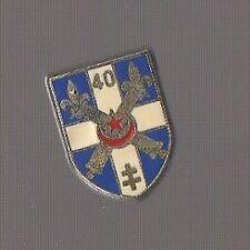 Pin's armée / insigne du 40ème Régiment d'Artillerie