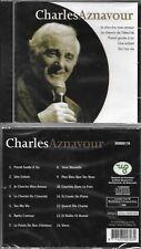 CD CHARLES AZNAVOUR 14  TITRES NEUF SCELLE