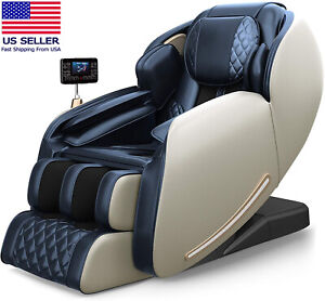 Real Relax 2021 Massage Chair, Zero Gravity SL Track Massage Chair, Full Body Sh