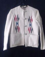 JACKET Julius Gans Ganscraft Chimayo Jacket Vintage Ivory Size 14/L